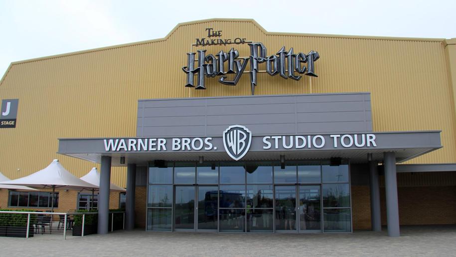 entrance to studios