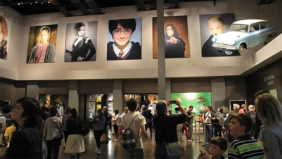 entrance hall to hp studios