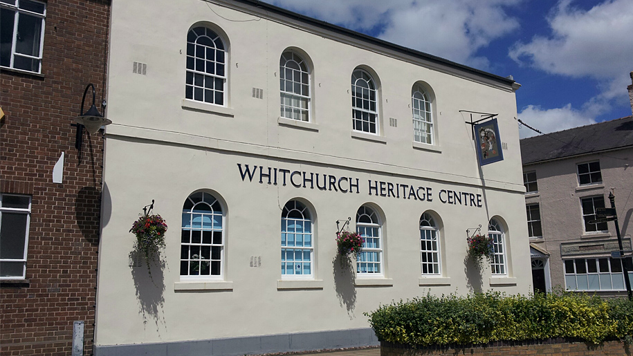 exterior of heritage centre