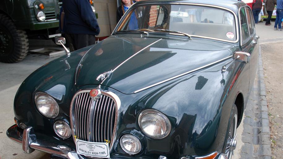 old fashioned jaguar