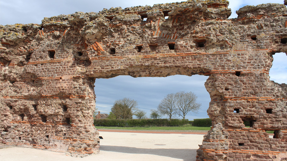ruins of roman city