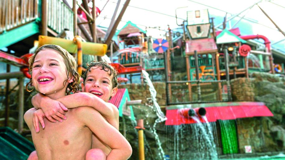 Alton Towers Waterpark pool fun