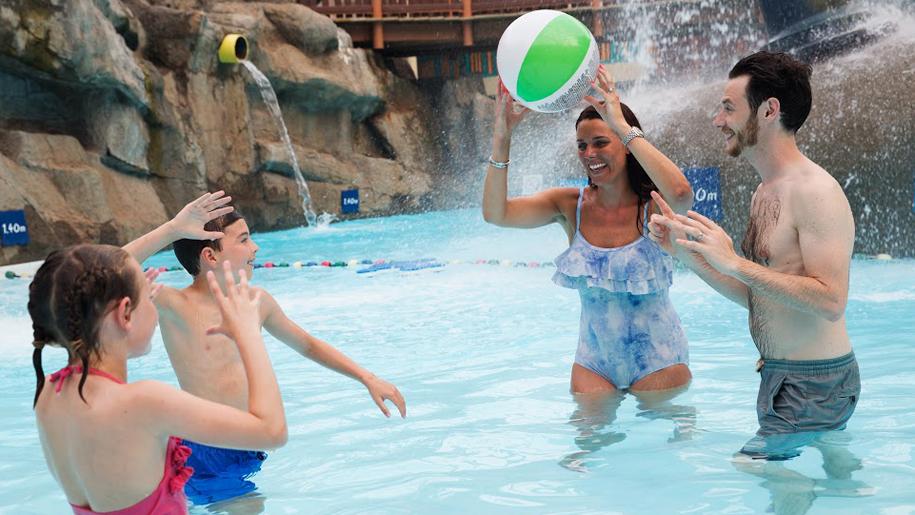 Alton Towers Waterpark pool ball