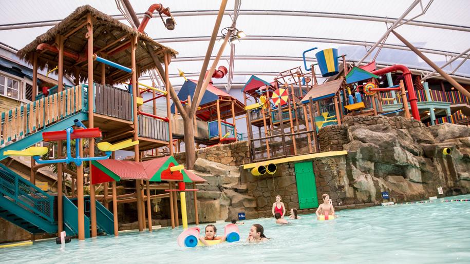 Alton Towers Waterpark pool