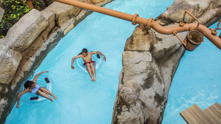 Alton Towers Waterpark lazy river