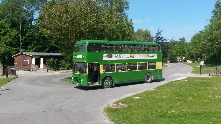 amberley museum bus