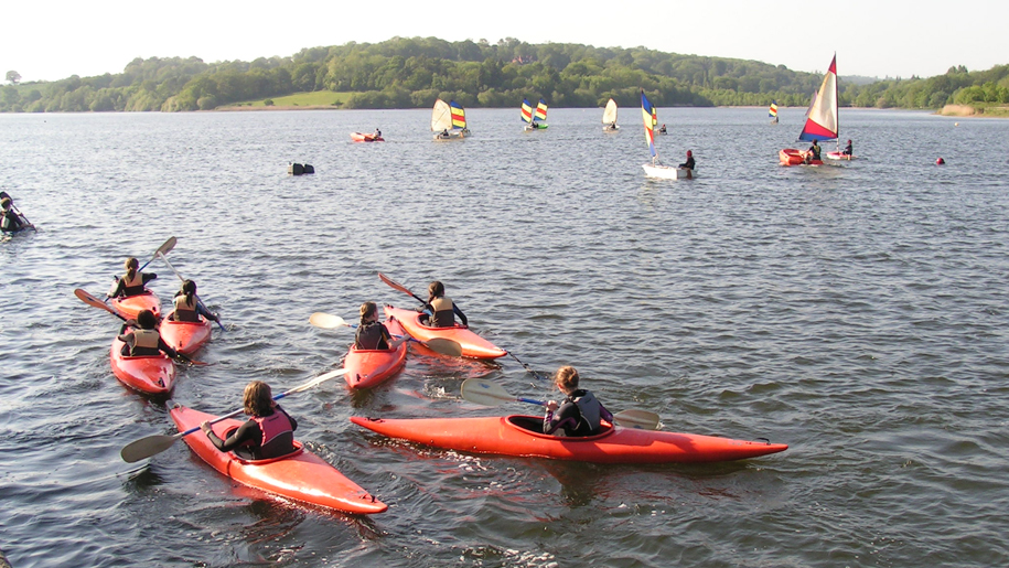 Ardingly Activity Centre canoes