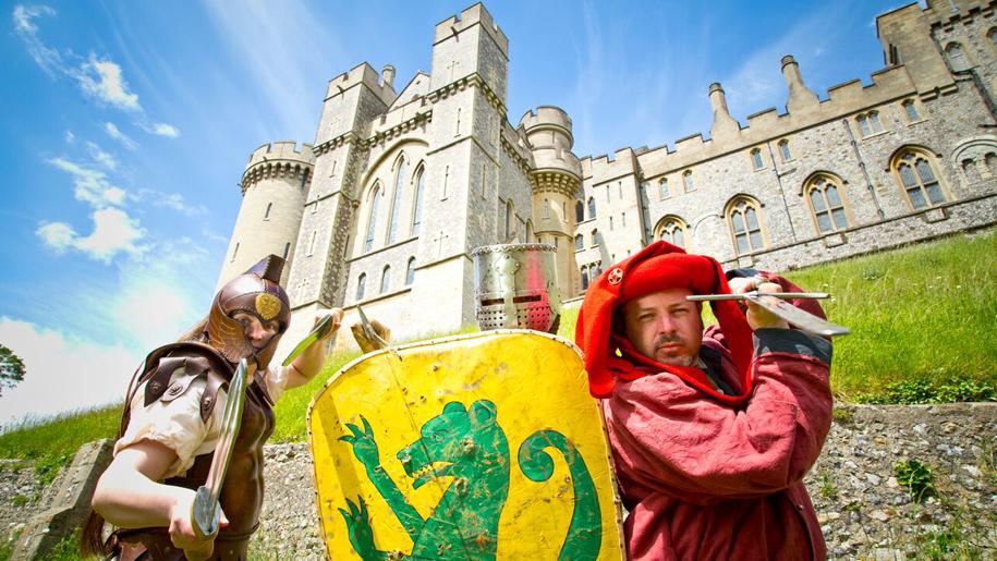 Arundel Castle shield