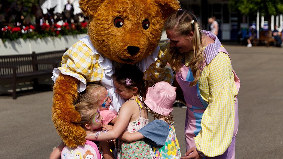 Ascot Racecourse teddy bear