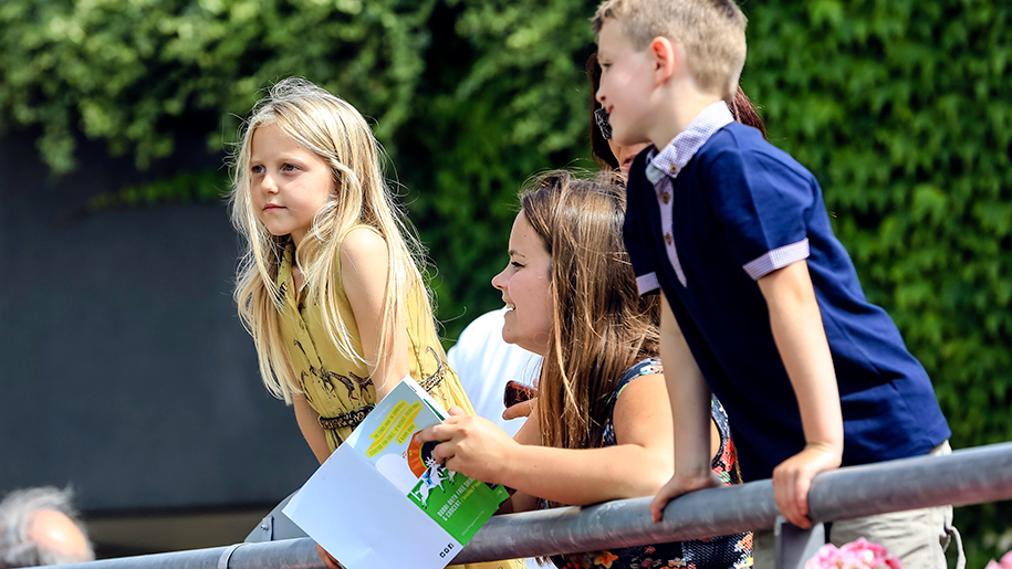 Ascot Racecourse kids