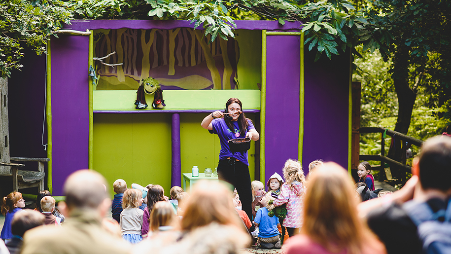 show at Bewilderwood