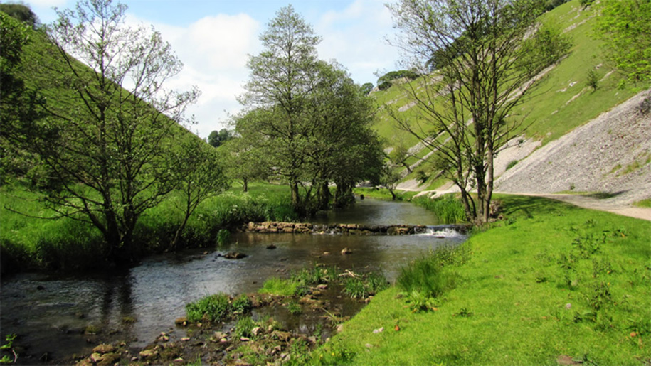 river through the dale