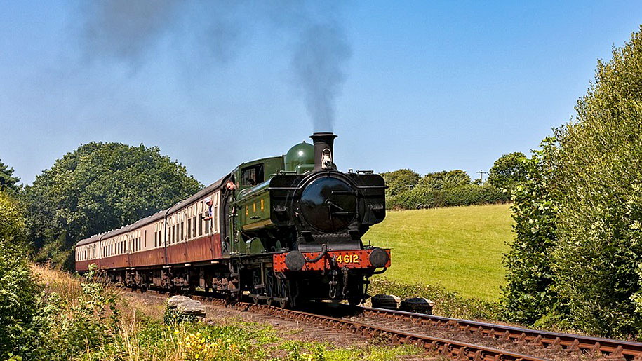 Bodmin & Wenford Railway train