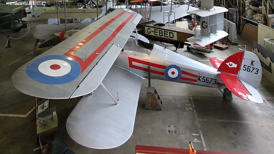Brooklands Museum bi-plane
