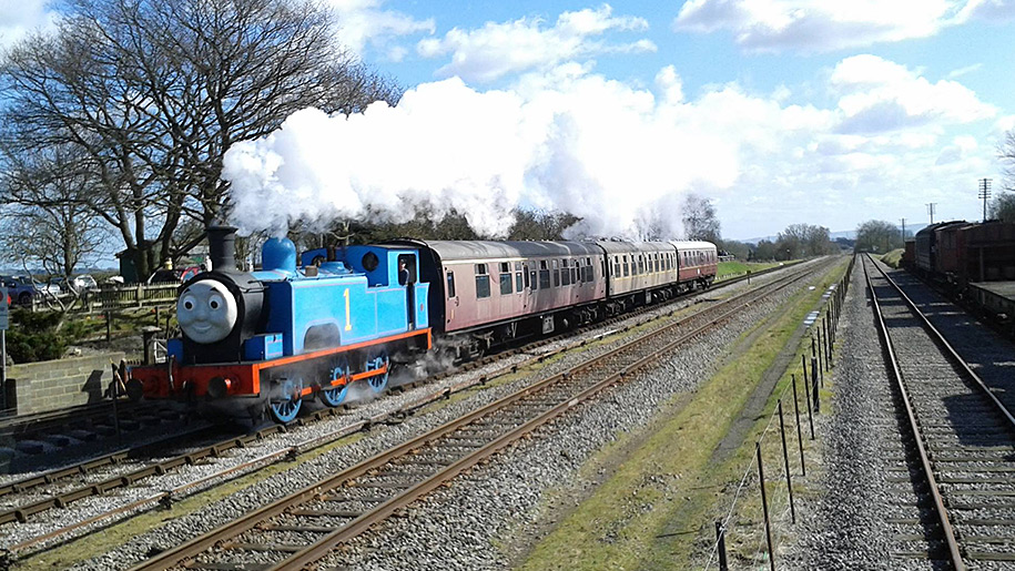Buckinghamshire Railway Centre train