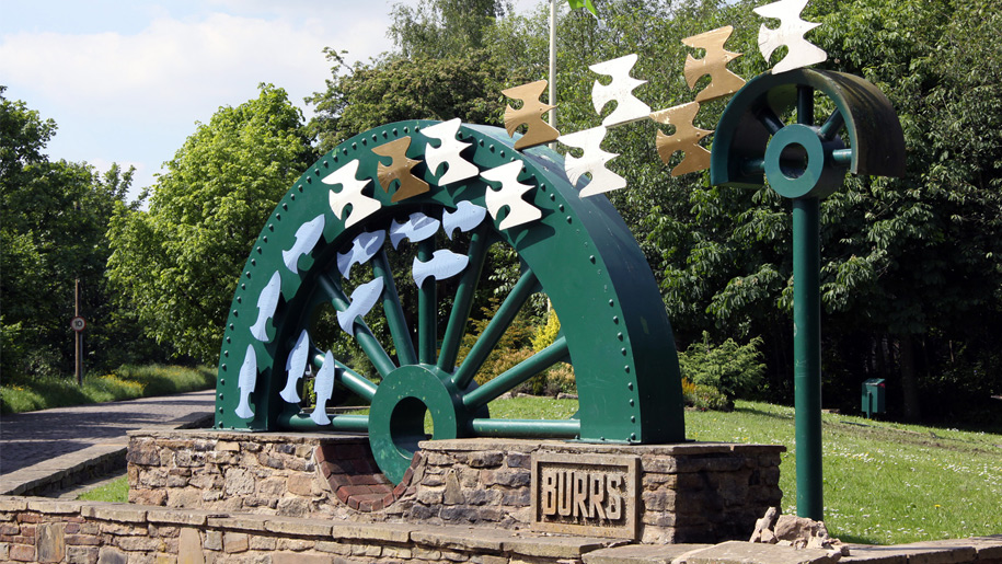 burrs sculpture