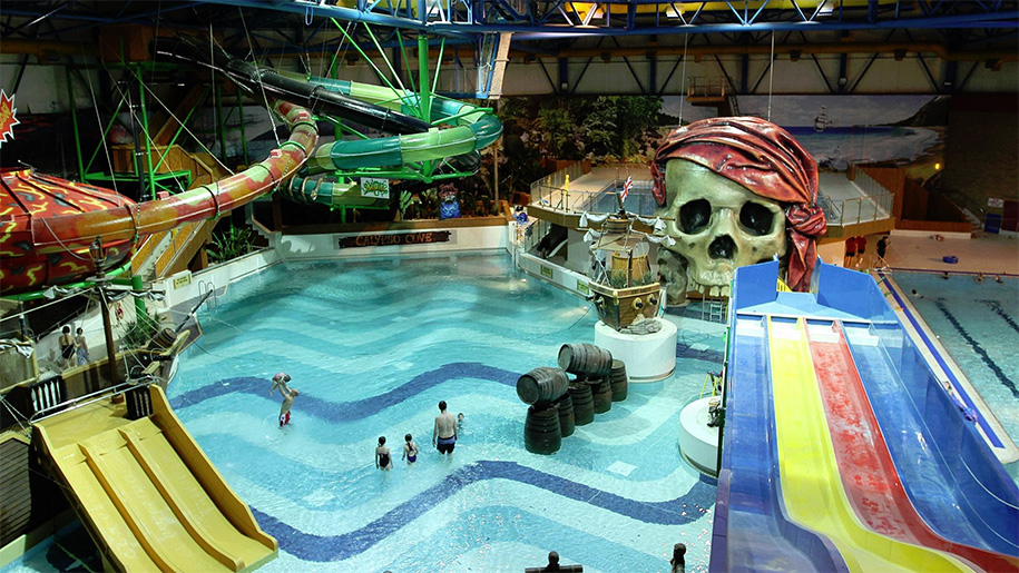 Calypso cove waterpark places to go lets go with the - Swimming pools with slides in yorkshire ...