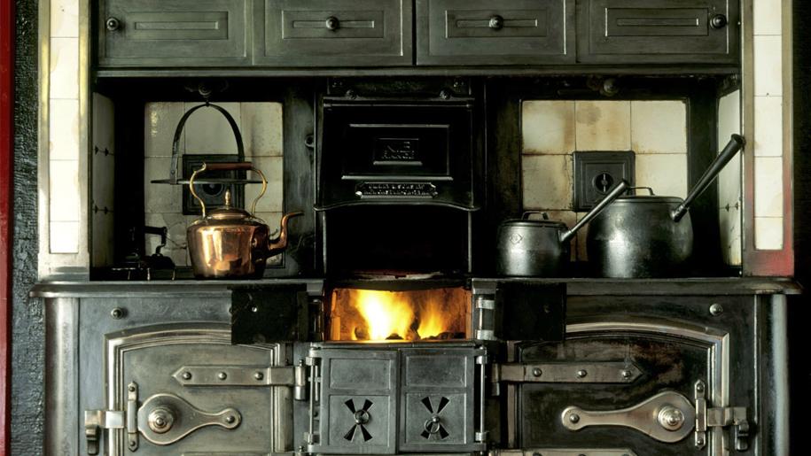 vintage oven