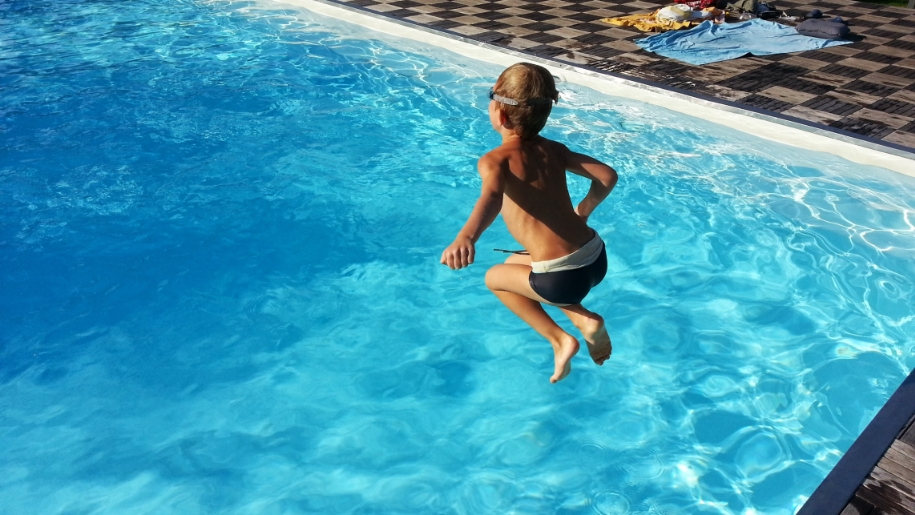 open air pool