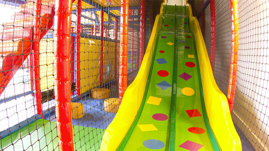 slide in soft play