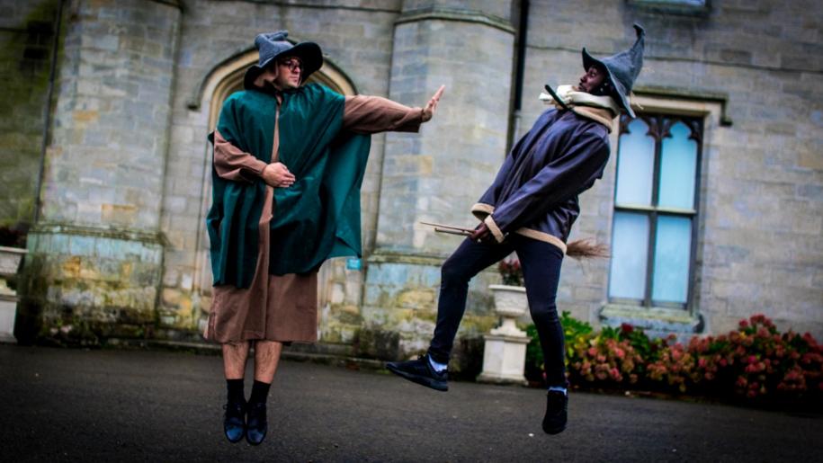 actors at chiddingstone castle