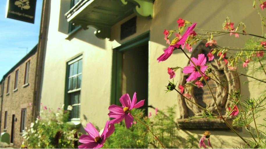coleridge cottage front door