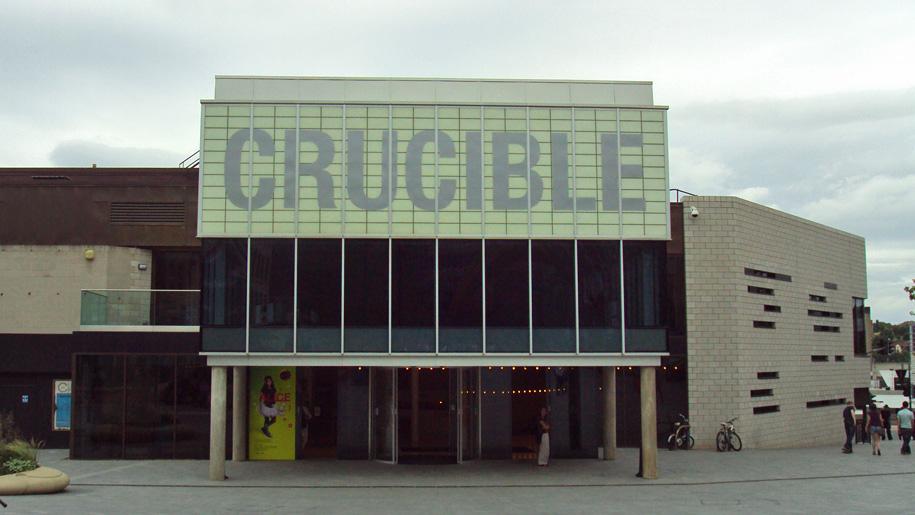 crucible exterior