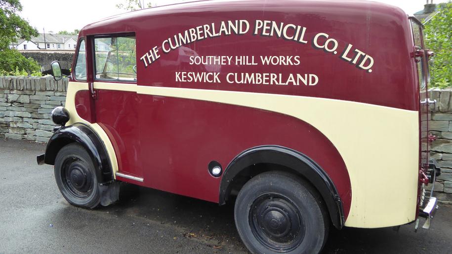 cumberland pencil museum van