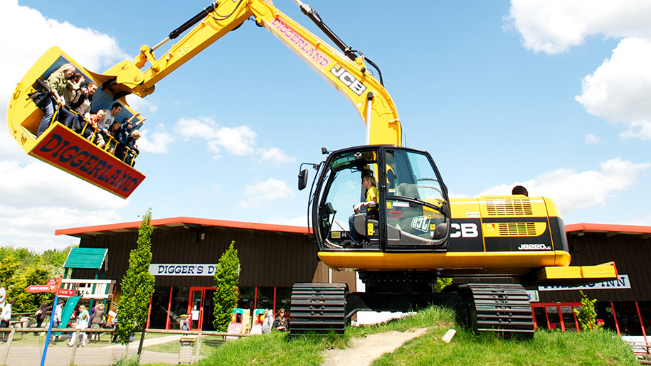 Diggerland tractor