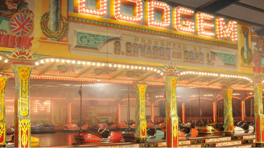 dodgem fairground ride
