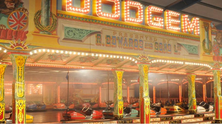 dodgem fairground ride
