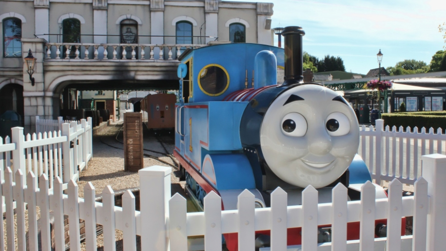 Thomas the tank engine ride