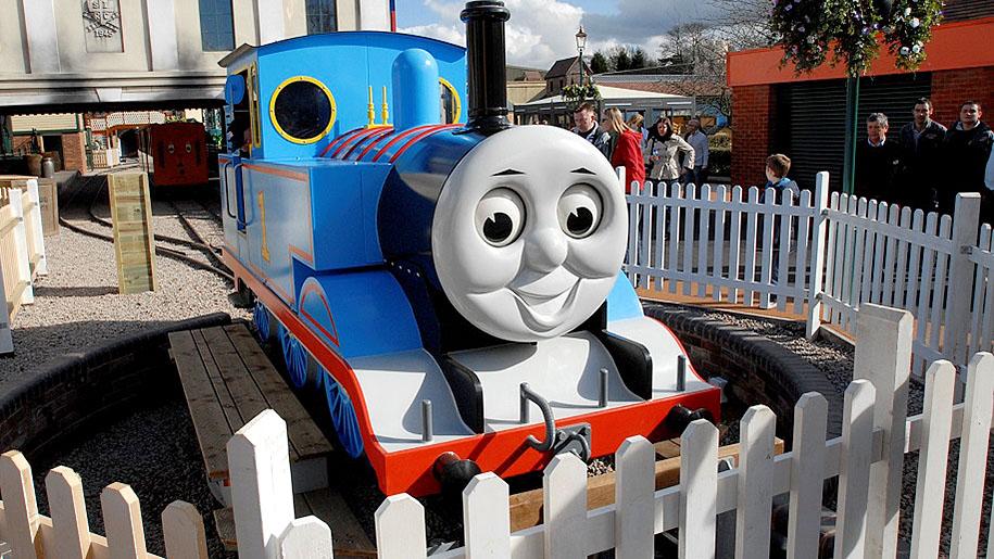 Drayton Manor Theme Park Thomas the Tank Engine