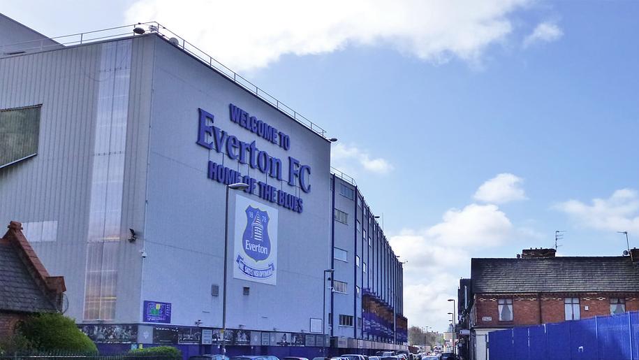 exterior of everton stadium