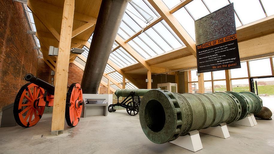 Fort Nelson inside