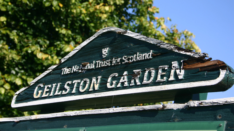 geilston garden sign
