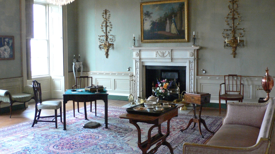 georgian drawing room