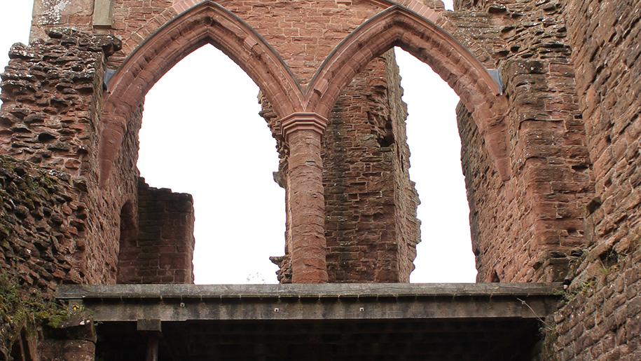 goodrich castle windows