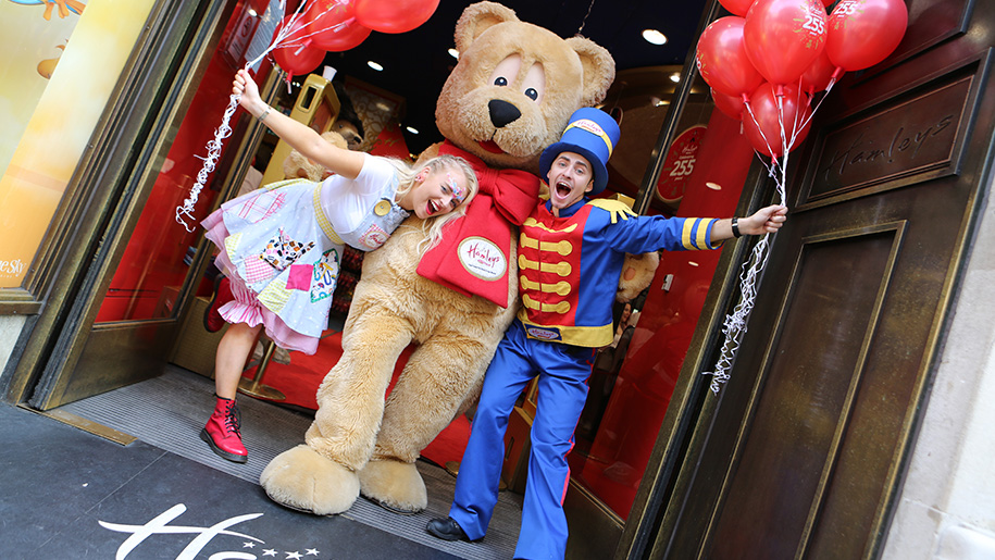 Hamleys Toy Shop Fancy Dress and Bear
