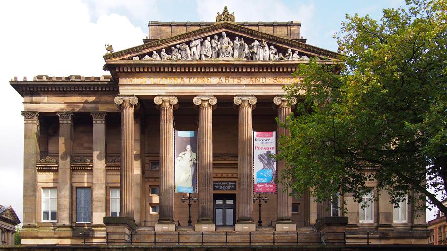 harris museum exterior