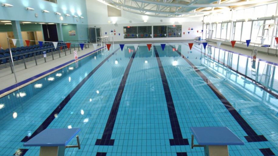 leisure centre swimming pool