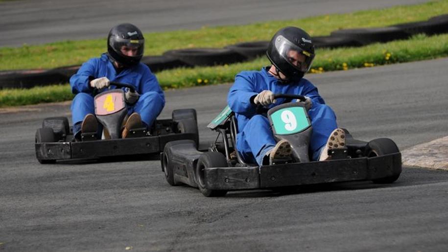 boys karting
