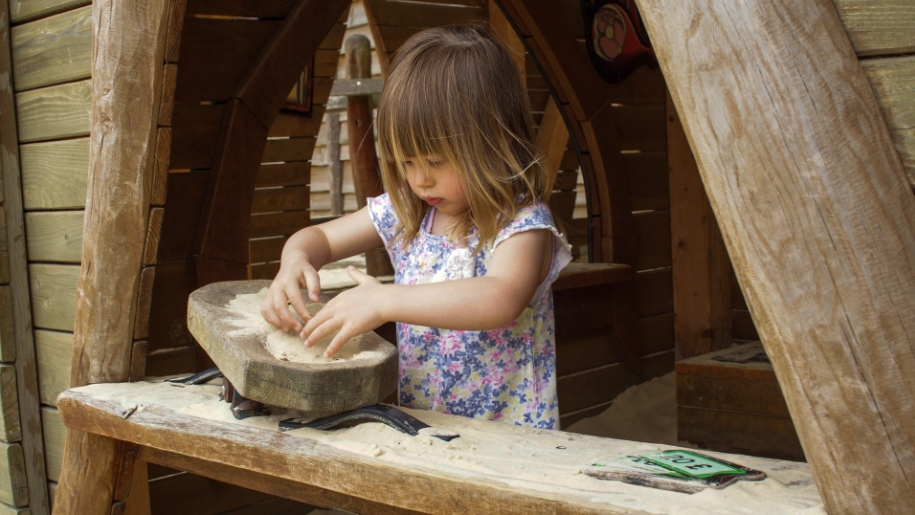 girl making objects