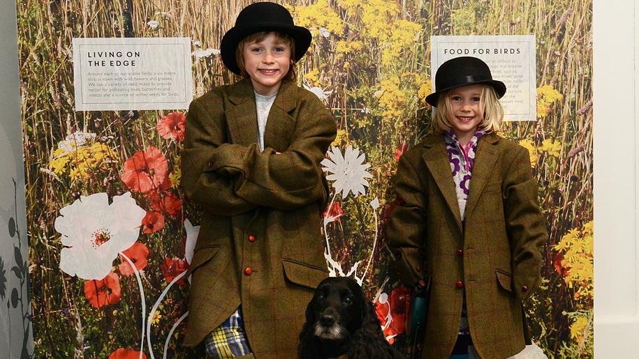 children dressed up