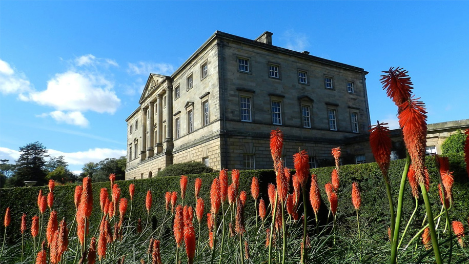 howick hall and flowers