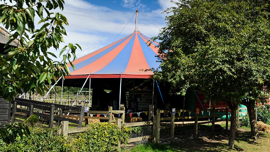 Kent Life circus tent