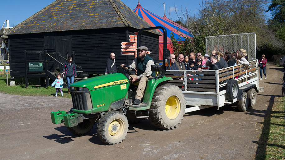 Kent Life Tractor Ride