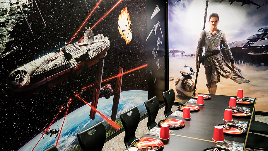 Kids'n'Action Star Wars themed room
