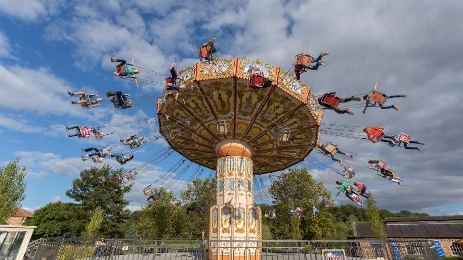 skyrider ride at Lightwater Valley theme park