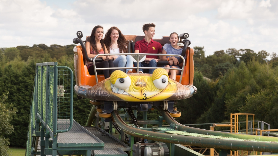 Twister ride at lightwater valley